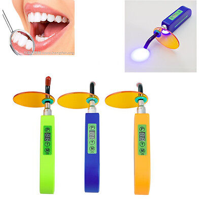 Dental Wireless Cordless LED Cure Curing Light Lamp 2000mw for Clinic USA