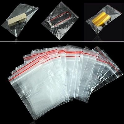 Grip Seal Bags Small Clear Bags Plastic Baggy Self Seal Resealable Zip Lock Bag