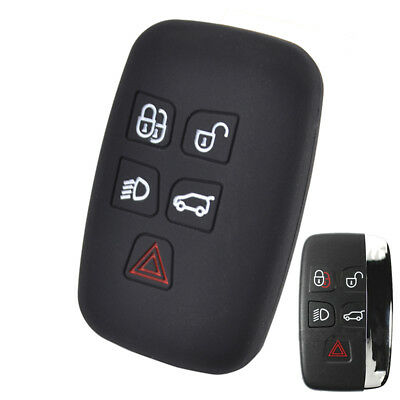 Silicone Key Cover Case Fob For Land Range Rover Sport Discovery 4 Evoque Vogue