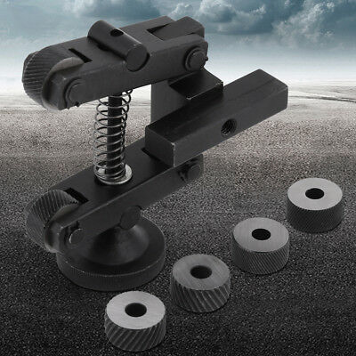 Knurling Knurler Tool Holder Linear Knurl Tool Lathe Adjustable Shank+6pcs Wheel