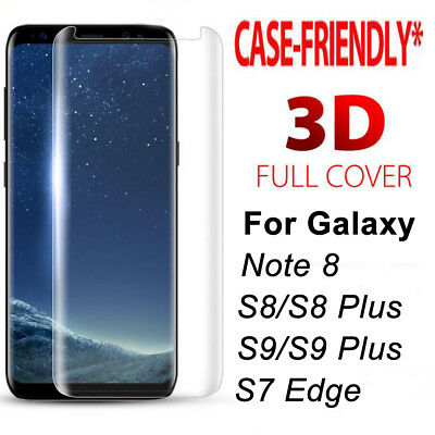 [Case Friendly] 3D Curved Full Cover Temper Glass Screen Film Protector Guard