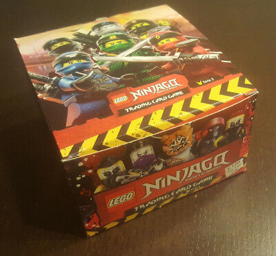 Lego® Ninjago™ Serie 3 Trading Cards 1 Display 50 Booster - 250 Karten