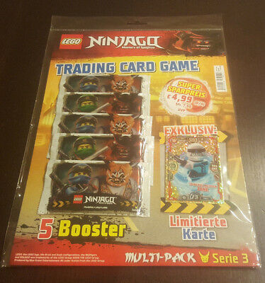 Lego® Ninjago™ Serie 3 Trading Cards Multipack mit LE 5