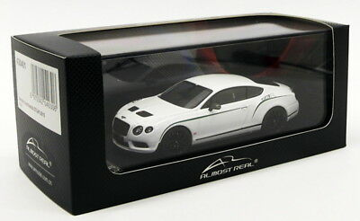 Almost Real 1/43 Scale Model Car 430401 - Bentley Continental GT3-R 2015 - White