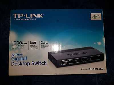 TP-Link TL-SG1005D Gigabit-Desktop-Switch (5-Port)
