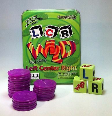 LCR WILD Left Center Right Dice Game