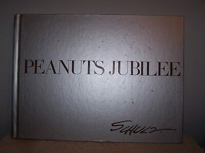 Vintage Charles Schulz Life And Art With Peanuts Jubilee Book - 208 Color Plates