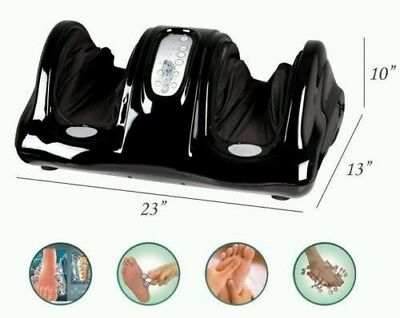 Foot & Calf Massager Shiatsu Kneading Rolling Reflexology Blood Circulation!