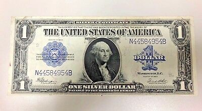 1923 Series $1 Large Silver Certificate Blue Seal Note