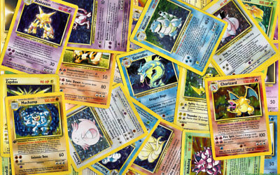 100 Pokemon Card Bulk Lot - Common, Uncommon, Rares & Holos; GTD 5 Rares