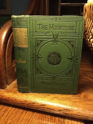 The Moonstone - Wilkie Collins 1894 - Rare Early Edition - Fine Binding - Illust
