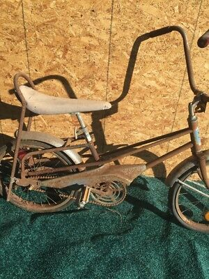 Vintage Western Flyer Muscle Bike Buckaroo Western Auto Bicycle