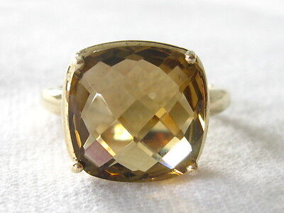 Designerschmuck Harry Ivens Damenring Silber 925 vergoldet Goldtopas Ladies Ring