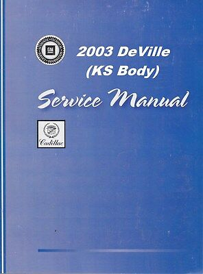 2003 cadillac deville repair manual