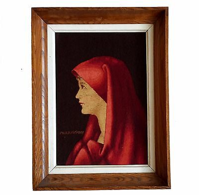 A Great Framed Aubusson Tapestry Depicting Fabiola