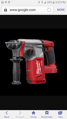 "NEW Milwaukee 2712-20 M18 FUEL 1"" SDS Plus Rotary Hammer+SDS ADAPTER (TOOL ONLY)"