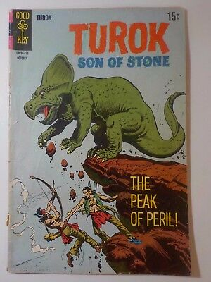 Turok, Son of Stone #63 (Gold Key) October 1968 Comic Book Reader Copy