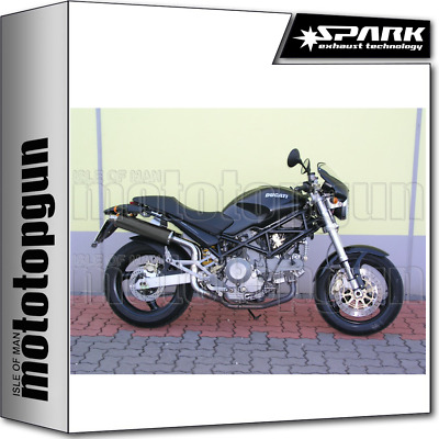 Spark Exhaust High Racing Round Carbon Ducati Monster 1000