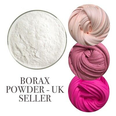 Borax (Sodium Tetraborate Decahydrate) Slime Activator Make Your Own Slime - 1KG