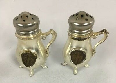 New York City Souvenir Salt and Pepper Shakers Vintage teapot Statue of Liberty