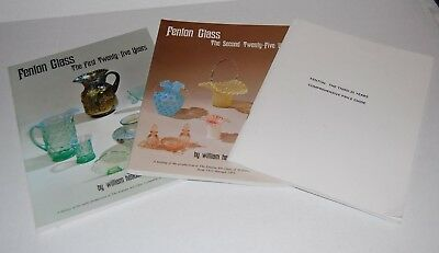 Fenton Glass First Twenty-Five Years and Second by William Heacock PB