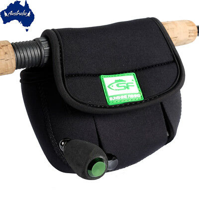 SF 3D 5 mm Neoprene Spinning Reel Cover Bag Case Pouch Fit 4000 5000 6000 M