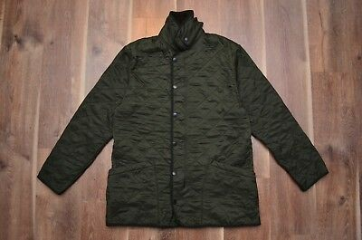 Barbour Men's D310 Polarquilt Quilted Casual Jacket Green M Medium