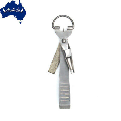 SF 4 in 1 Line Nippers  Fly Fishing Tie Fast Nail Knot Tying Tool