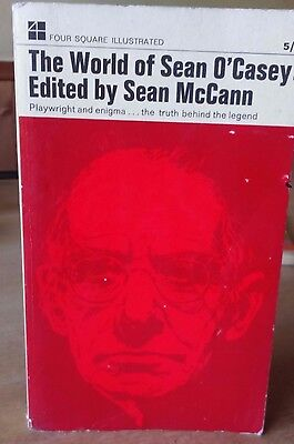 Sean McCann - The World of Sean O'Casey 1st Edition 1966 Irish Dramatist Bio TN