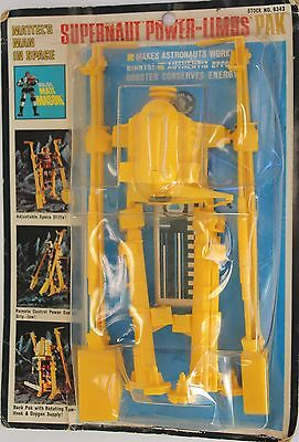 *RARE 1968 MATTEL Major Matt Mason's Supernaut Power Limbs *New in Pack* (C502)