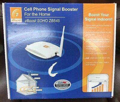 zBoost SOHO ZB545 Home Cell Phone Booster - Up To 2500 Sq Ft