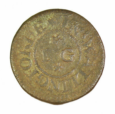 Wallingford, Goodwin 17th Century British Farthing Token (Possible Overstrike)
