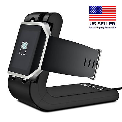 Fitbit Blaze Charger Cradle Charging Stand Replacement Dock Accessories 2-in-1