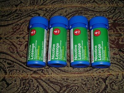New 24 Nicotine Lozenges Cvs 4Mg Mint Flavor Stop Smoking Aid 10/18 Quit Now