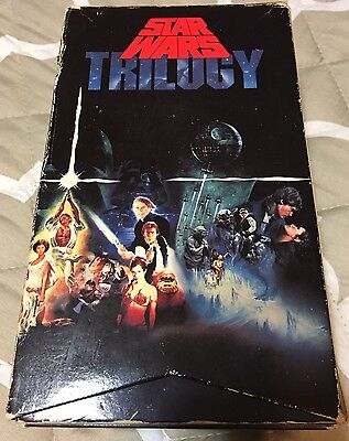 Star Wars Trilogy VHS The Empire Strikes Back Return Of The Jedi 1992