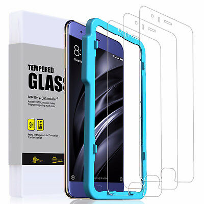 Premium Tempered Glass Easy Install Frame & Silicone Cases for Xiaomi Phones