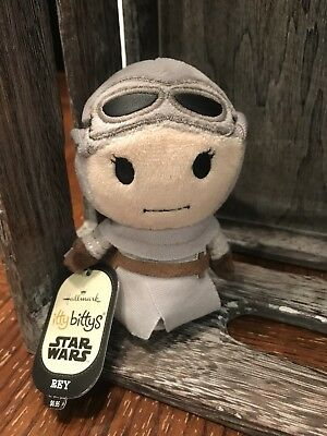 Hallmark Itty Bitty Rey NWT Star Wars The Force Awakens Disney