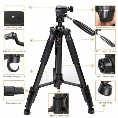 "Zomei 55"" Q111 Professional Heavy Duty Aluminium Tripod&Pan Head for DSLR Came T"
