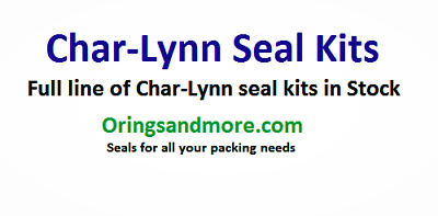 CharLynn A & H Series Seal Kit CL-60023