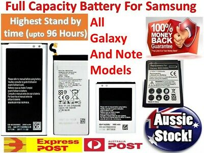 TOP OEM Battery for Samsung Galaxy Note 8 5 4 3 2 & S2 S3 S4 S5 S6 S7 S8 Plus