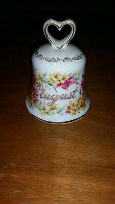 Golden Crown Bone China August Dinner Bell