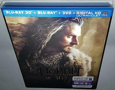 The Hobbit The Desolation Of Smaug 3D Brand New Sealed Bluray & R1 Dvd Combo