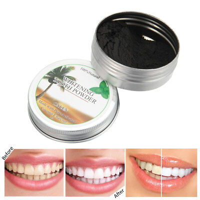 Professional Teeth Whitening Activated Coal Off Pure Coco Tooth Powder 15g