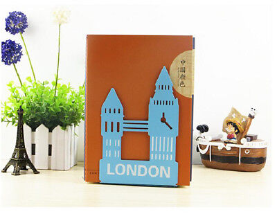 Creative London Nonskid Bookends For Home Office School Library Study 1Pair