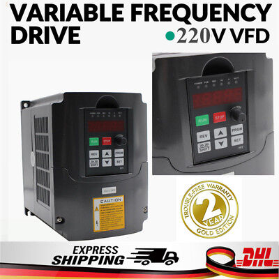 2,2KW 220V 3HP 10A VFD Frequenzumrichter Variable Frequency Drive Inverter CNC