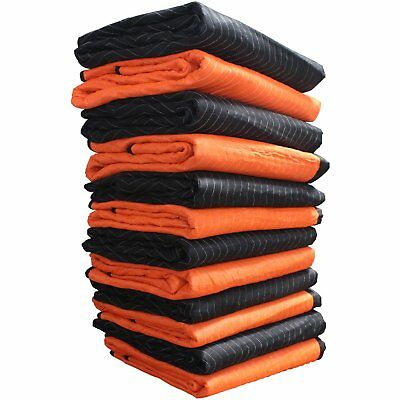 Forearm Forklift FFBMB12 72 Inch x 80 Inch Heavy Weight 6.7 Lbs Moving Blanket,