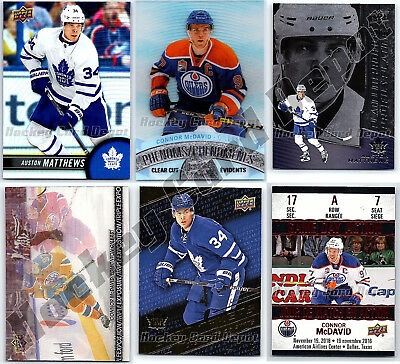 2017-18 TIM HORTONS - Finish Your Set SINGLES - PICK FROM LIST - Low Price Mint
