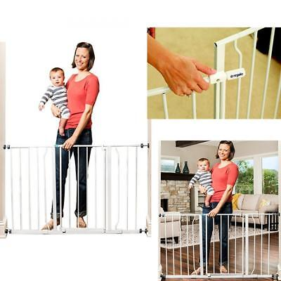 Child proof Metal Safety Gate Regalo Easy Open EXTRA WIDE Pet Pets Baby Babies
