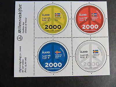 Aland 2000 New MillenniumSheet MS171 MNH UM unmounted mint