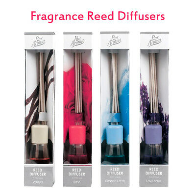 Modern Fragrance Reed Diffusers Scented Sticks Rose Vanilla Ocean Fresh Lavender